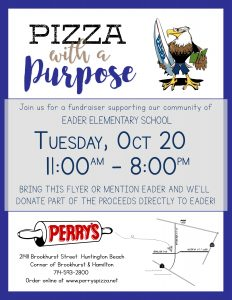 Perry's Pizza Restaurant Night!! @ Perry's Pizza